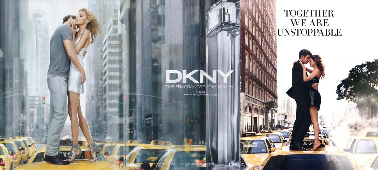 DONNA KARAN DKNY Eau de Toilette 2012 Russia spread 'The fragrances for women - Новая женская туалетная вода'