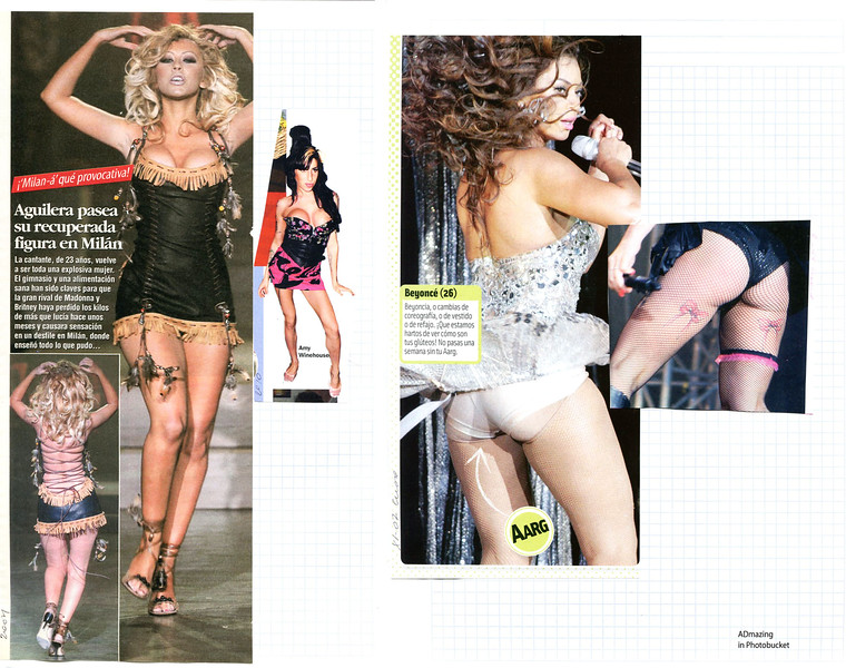 'Frontstage-Backstage' collage  by Stray