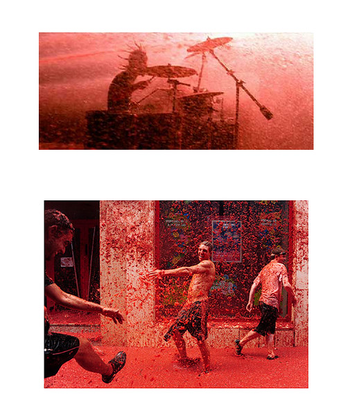 'SymphonyInRed' collage  by Stray