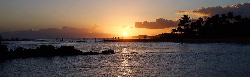 Sunset at Po'ipu, Kauaii