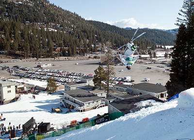US Freestyle Nationals at Squaw Valley (this photo is from a training run in the morning).  Sigma DP1.