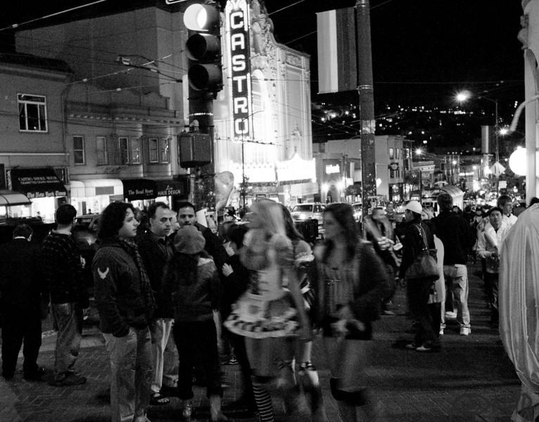 Castro street in San Francisco.