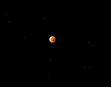 Total lunar eclipse, December 21, 2010 (Photo taken in Truckee, CA)