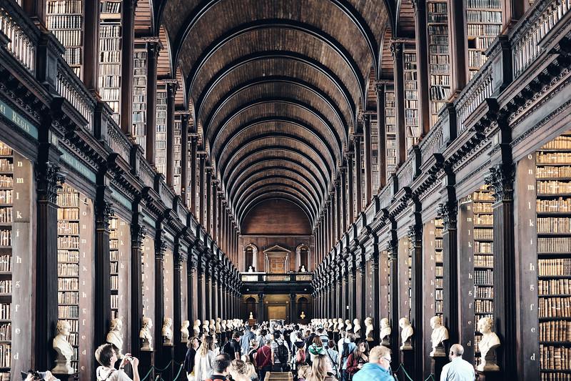 Library, Trinity College, Dublin, Ireland