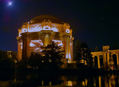 Palace of Fine Arts in San Francisco at night.  This is a DP1 shot converted in SPP to pull out all of the dynamic range available in the RAW image.  I happened to be there on occasion of our little project, but that' a story for another day.