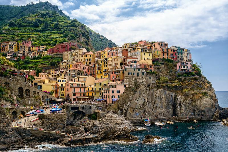 Manarola village in Cinque Terre, Italy