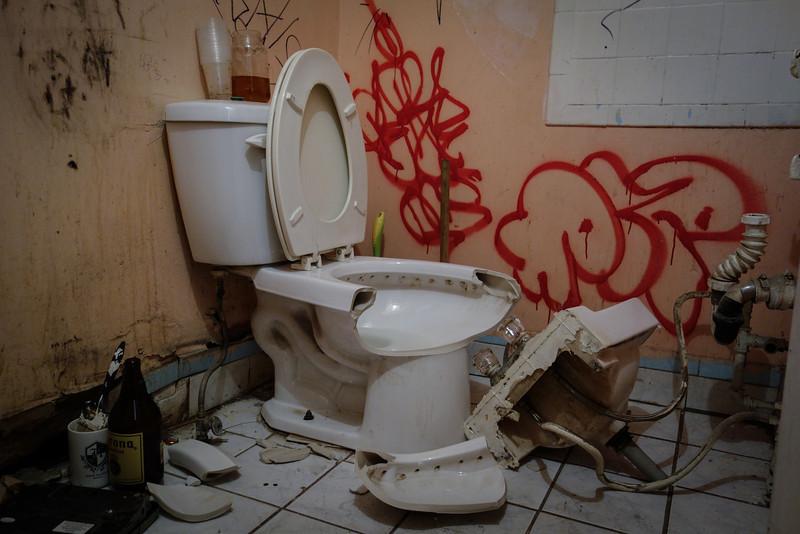 Restroom, Dino Eli Gallery, NY City