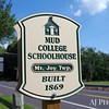 This and next seven photos of Mud college Schoolhouse, Mt. Joy Township, Pensylavania (near Gettysburg).