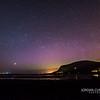 Aurora Across Knocknarea