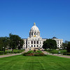 Capitol from the midpoint of the mall.
