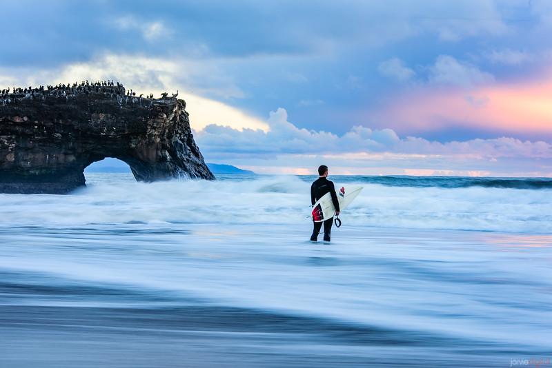 Surfer - Santa Cruz