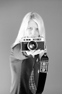 CINDY-YASHICA VINTAGE CAMERA IMG_4590 BW copy