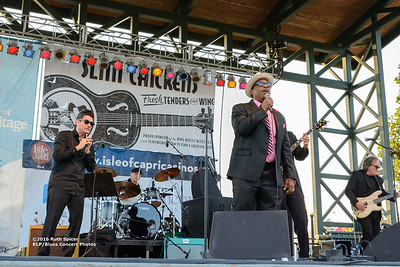 10-08-2016 - Andy T  & Alabama Mike - King Biscuit Blues Festival #11