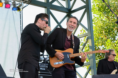 10-08-2016 - Andy T  & Alabama Mike - King Biscuit Blues Festival #4