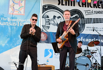 10-08-2016 - Andy T  & Alabama Mike - King Biscuit Blues Festival #25