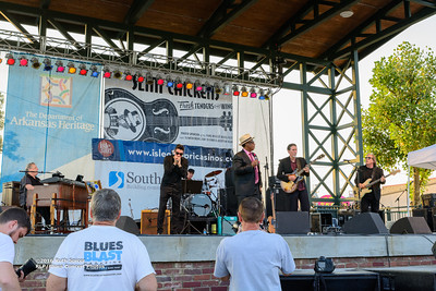 10-08-2016 - Andy T  & Alabama Mike - King Biscuit Blues Festival #14