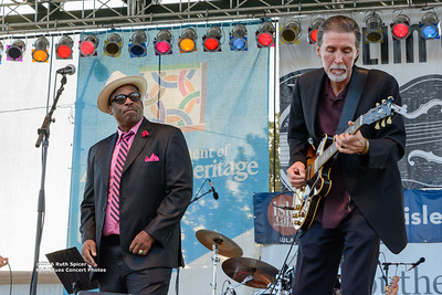10-08-2016 - Andy T  & Alabama Mike - King Biscuit Blues Festival #7