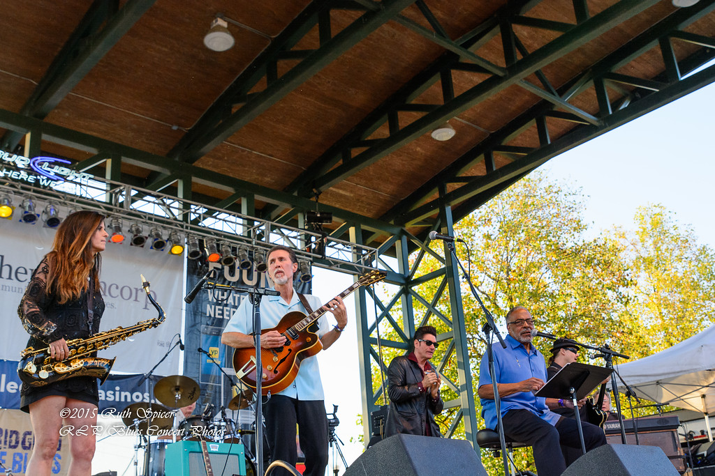 Andy T.  - Nick Nixon Band - King Biscuit Blues Festival - CONCERT PHOTOS - 10-10-2015