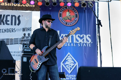 10-06-2018 - Andy T  & Alabama Mike with Anson Funderburgh - King Biscuit Blues Festival #15