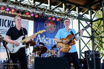 10-06-2018 - Andy T  & Alabama Mike with Anson Funderburgh - King Biscuit Blues Festival #22