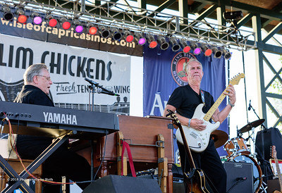 10-06-2018 - Andy T  & Alabama Mike with Anson Funderburgh - King Biscuit Blues Festival #11