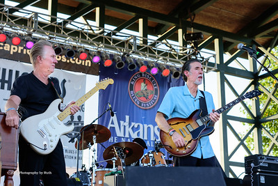10-06-2018 - Andy T  & Alabama Mike with Anson Funderburgh - King Biscuit Blues Festival #30