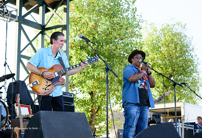 10-06-2018 - Andy T  & Alabama Mike with Anson Funderburgh - King Biscuit Blues Festival #10