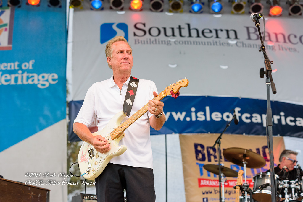 Anson Funderburgh - King Biscuit Blues Festival CONCERT PHOTOS - 10-09-2015