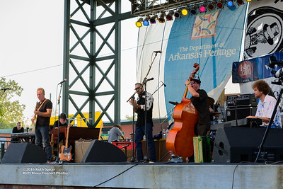10-07-2016 - Anson Funderburg & The Rockets - King Biscuit Blues Festival #11