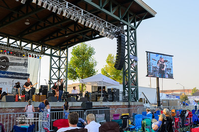 10-07-2016 - Anson Funderburg & The Rockets - King Biscuit Blues Festival #13