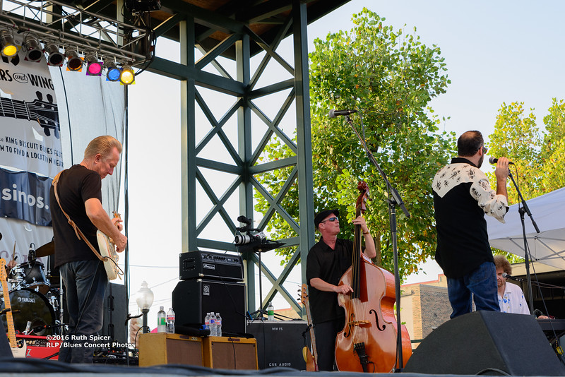 10-07-2016 - Anson Funderburg & The Rockets - King Biscuit Blues Festival #3