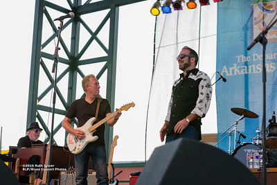 10-07-2016 - Anson Funderburg & The Rockets - King Biscuit Blues Festival #28