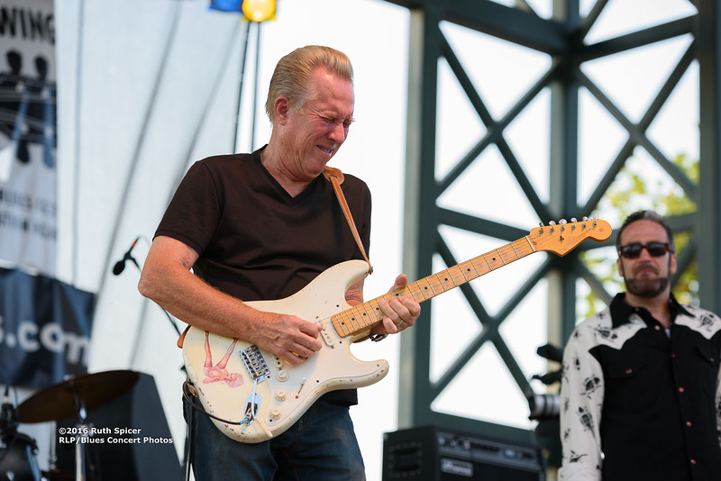 Anson Funderburgh & The Rockets - 2016 King Biscuit Blues Festival CONCERT PHOTOS - 10-07-2016