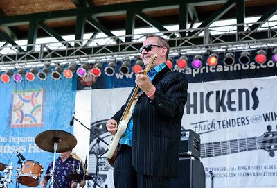 10-06-2018 - Backbone Blues Band - King Biscuit Blues Festival #2