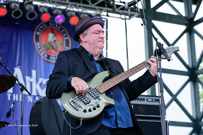 10-06-2018 - Backbone Blues Band - King Biscuit Blues Festival #15