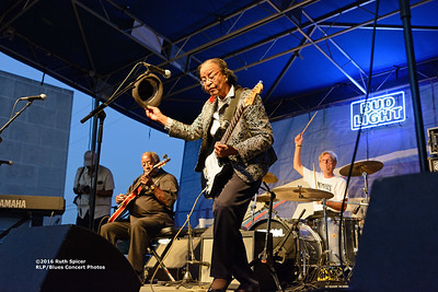 10-08-2016 - Beverly Guitar Watkins - King Biscuit Blues Festival #37