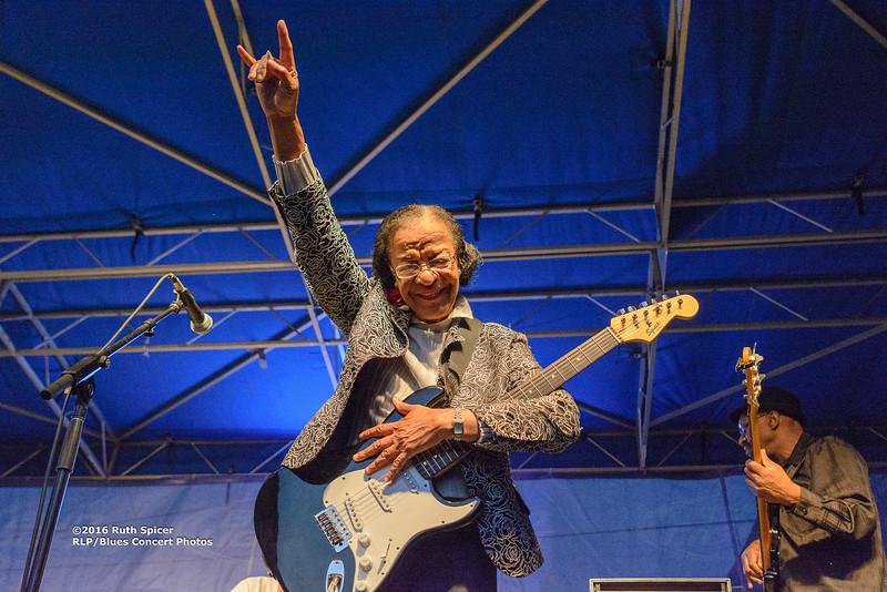 10-08-2016 - Beverly Guitar Watkins - King Biscuit Blues Festival #49