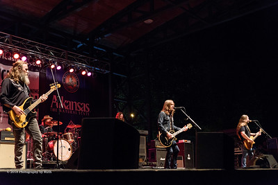 10-05-2018 - Blackberry Smoke - King Biscuit Blues Festival #4