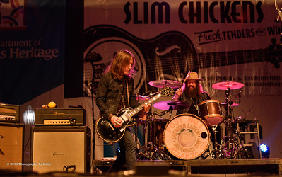 10-05-2018 - Blackberry Smoke - King Biscuit Blues Festival #25