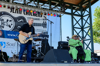 10-07-2016 - Blind Mississippi Morris - King Biscuit Blues Festival #4
