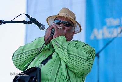 10-07-2016 - Blind Mississippi Morris - King Biscuit Blues Festival #22