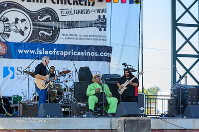 10-07-2016 - Blind Mississippi Morris - King Biscuit Blues Festival #9