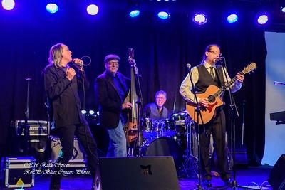 01-27-2016 - Dave Muskett Acoustic Blues Band - Blind Raccoon Showcase - Purple Haze - Memphis, TN #1