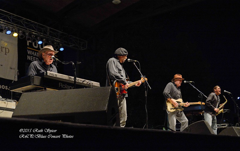 Cate Brothers - King Biscuit Blues Festival CONCERT PHOTOS - 10-08-2015