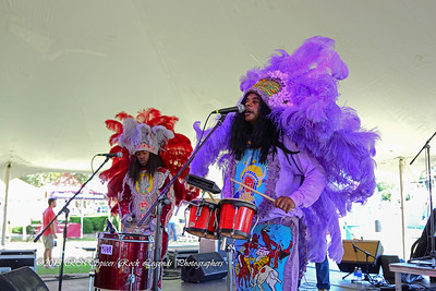 05-03-2015 - Cha Wa Mardi Gras Indian Funk Band - Pensacola Crawfish Fest #53