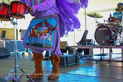 05-03-2015 - Cha Wa Mardi Gras Indian Funk Band - Pensacola Crawfish Fest #36