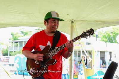 05-03-2015 - Cha Wa Mardi Gras Indian Funk Band - Pensacola Crawfish Fest #13