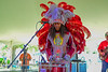 05-03-2015 - Cha Wa Mardi Gras Indian Funk Band - Pensacola Crawfish Fest #32
