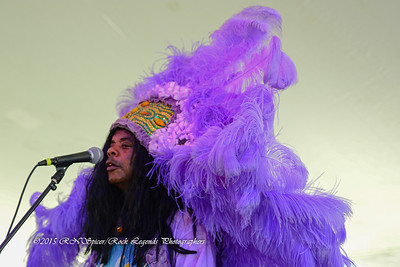 05-03-2015 - Cha Wa Mardi Gras Indian Funk Band - Pensacola Crawfish Fest #48