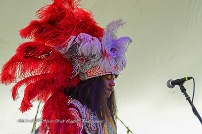 05-03-2015 - Cha Wa Mardi Gras Indian Funk Band - Pensacola Crawfish Fest #50